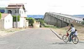 Ibotirama - Lateral esquerda da ponte em Ibotirama-Foto:vinicius7.7