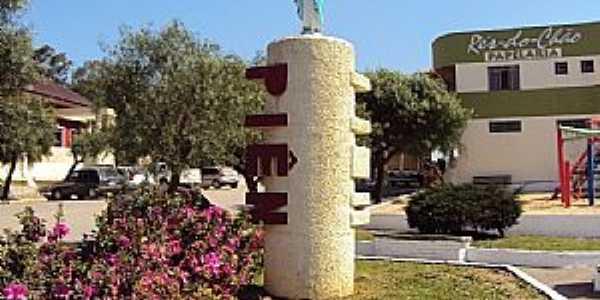 Piên-PR-Imagem de N.Sra.das Graças na Praça da Prefeitura-Foto:NILCE GIBSON