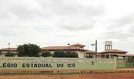 Icó - Icó-BA-Colégio Estadual-Foto:escolas.educacao.ba.gov.br