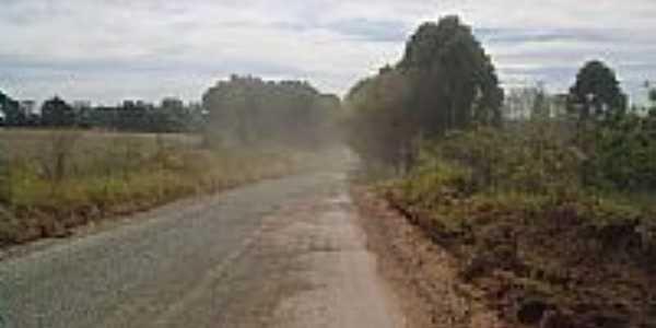 Estrada próxima à Piriquitos-Foto:leandror