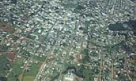 Pitanga - Foto a�rea de Pitanga-Foto:F�bio Manchur