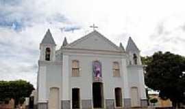 Igaporã - Matriz de N.Sra.do Livramento em Igaporã-BA-Foto:Vicente A. Queiroz