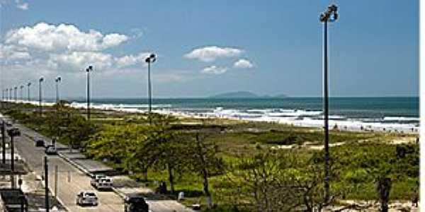 Pontal do Paraná-PR-Avenida da praia-Foto:Priscila Forone