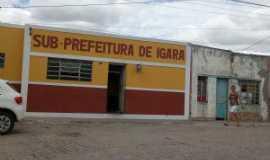 Igará - prefeitura, Por Ronaldo de Castro Silva
