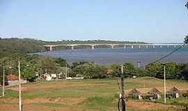 Porto Camargo - Porto Camargo-PR-Vista da Ponte sobre o Rio Paraná-Foto:CAMARGO