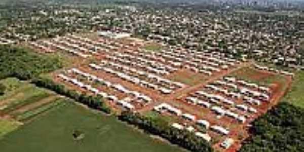 Vista aérea de Porto Meira-Foto:pmfi.pr