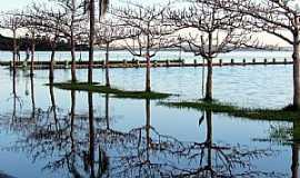 Porto Mendes - Porto Mendes-PR-Lago de Itaipu no Parque de Lazer Annita Wanderer-Foto:Ricardo Mercadante