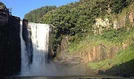 Prudentópolis - Cachoeira do  Salto Barão do Rio Branco - Foto Portal das Cachoeiras
