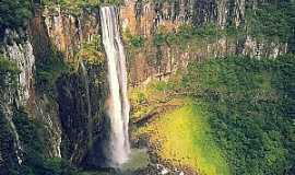 Prudentópolis - Cachoeira do Salto São Francisco - Foto Portal das Cachoeiras