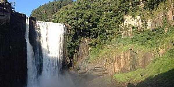Cachoeira do  Salto Bar�o do Rio Branco - Foto Portal das Cachoeiras