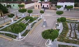 Carneiros - Carneiros-AL-Praça central-Foto:Clovis Toneti Agra