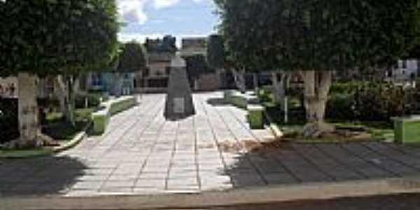 Carneiros-AL-Praça Cônego José Bulhões-Foto:Sergio Falcetti