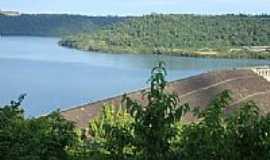 Quedas do Igua�u - Usina de Salto Os�rio,Munic�pio de Quedas do Igua�u-Foto:Emerson Novalski