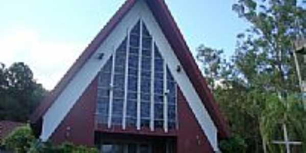Igreja de Salto Osório,Município de Quedas do Iguaçu-Foto:Emerson Novalski
