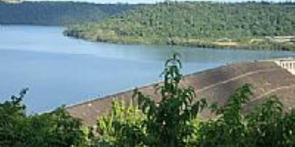 Usina de Salto Osório,Município de Quedas do Iguaçu-Foto:Emerson Novalski