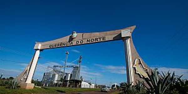 Querência do Norte-PR-Pórtico de entrada-Foto:www.gazetadopovo.com.br