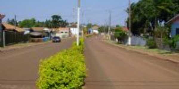 Avenida no centro de Ramilândia, Por Sival Moreira de Brito