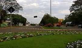 Realeza - Praça em Realeza-Foto:AERO ] JEloy Al Ma…