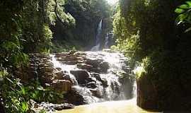 Reserva - Reserva-PR-Salto da Usina Rio Maromba-Foto:Gerson Gomes