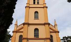 """Ribeirão Claro -   Igreja Matriz Católica """"Paróquia Sagrado Coração de Jesus"""""""