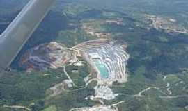 Rio Branco do Sul - Rio Branco do Sul-PR-Vista aérea da pedreira-Foto:Alex Vieira da Silva