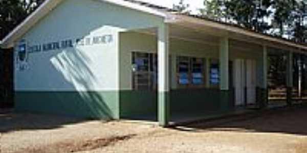 Rio Branco do Sul-PR-Escola Municipal Rural José de Anchieta-Foto:Elétro Motores Itaperuçu