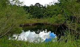 Rio do Salto - Lago no Parque Salto do Portão no Distrito de Rio do Salto-Foto:Ricardo Mercadante
