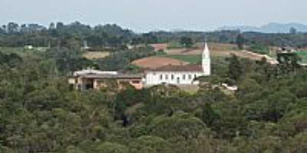 Vista da Igreja Matriz de Roça Velha-Foto:Eduardo Jose Jankosz