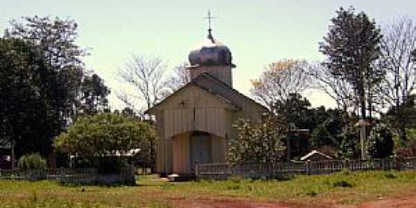 Roncador-PR-Igreja Ucraniana-Foto:Artemio Clides Karpinski