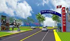 Rondon - Novo Portal A Ser Construido Na Entrada de Rondon.