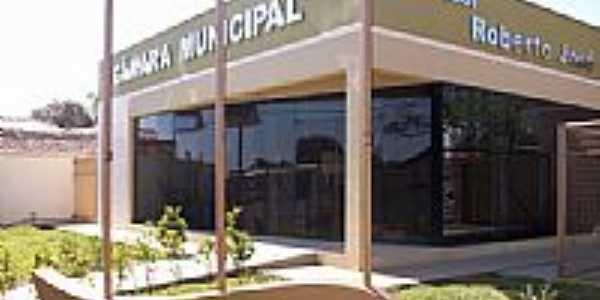 Câmara Municipal de Salto do Itararé-Foto:Aparecido Ferraz