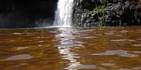 Cachoeira Saltão em Salto do Lontra-PR-Foto:clausirjm