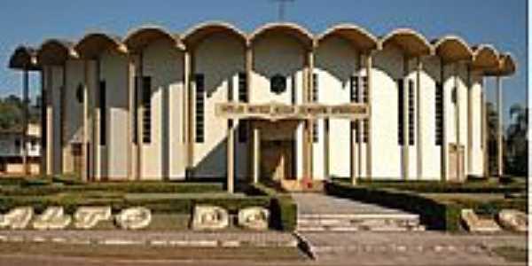 Igreja Matriz de N.Sra.Aparecida em Salto do Lontra-PR-Foto:L&S