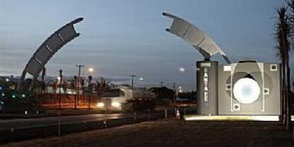 Portal da cidade de Santa Fé