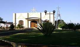 Santa Helena - Santa Helena-PR-Igreja no Distrito Moreninha-Foto:Artemio Clides Karpinski