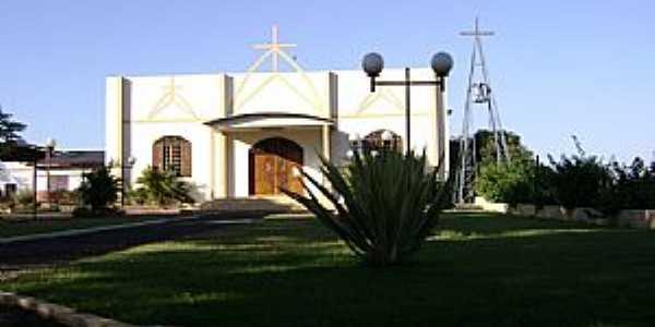 Santa Helena-PR-Igreja no Distrito Moreninha-Foto:Artemio Clides Karpinski