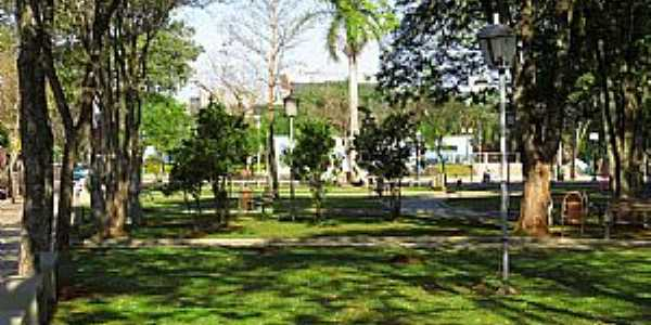 Santa Helena-PR-Praça Anchieta-Foto:Ricardo Mercadante