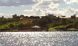 Santa Inês - Santa Inês-PR-Lago da Reresa Itaquaruço-Foto:www.paranaturismo.com.br