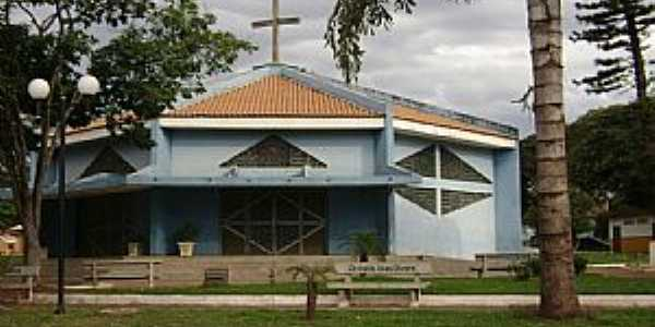 Santa Inês-PR-Paróquia de Santa Inês-Foto:itamauro1969