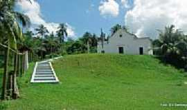 Ilha de Mar� - Igreja de N.Sra.das Neves na Ilha da Mar�-BA-Foto:Ed_Santiago