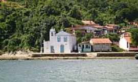 Ilha de Mar� - Igreja de N.Sra.de Sant�Ana na Ilha da Mar�-BA-Foto:marco antonio ramos