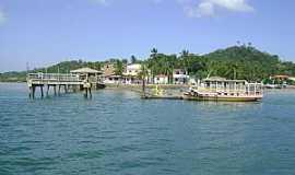 Ilha de Mar� - Ilha da Mar�-BA-Pier de Botelho-Foto:marco antonio ramos