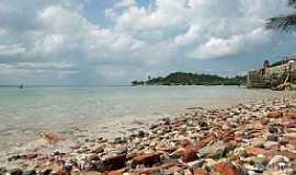 Ilha de Mar� - Ilha da Mar�-BA-Praia de Botelho-Foto:Ed_Santiago
