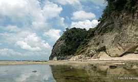 Ilha de Mar� - Ilha da Mar�-BA-Praia de Itamoabo-Foto:Ed_Santiago