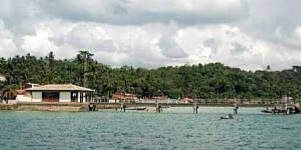 Ilha da Maré-BA-Pier da Praia de Botelho-Foto:Ed_Santiago