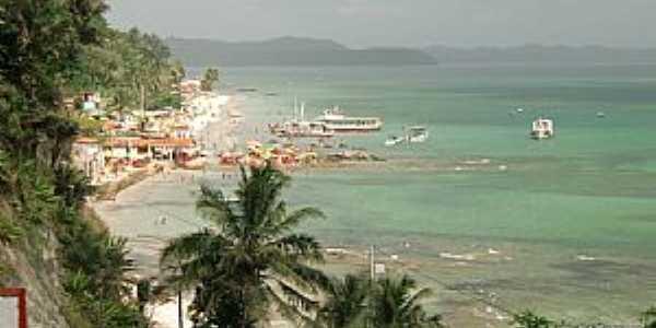 Ilha da Maré-BA-Vista da Praia de Itamoabo-Foto:Ed_Santiago
