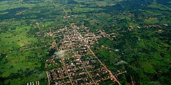 Santa Luzia da Alvorada-PR-Vista aérea da cidade e região-Foto:mapio.net