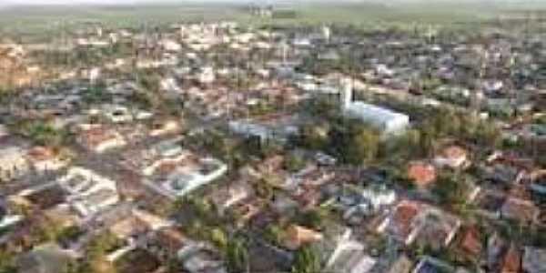 Santa Luzia da Alvorada-PR-Vista aérea da cidade-Foto:travelingluck.com
