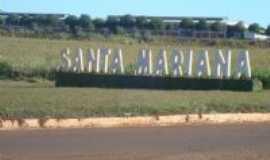 Santa Mariana - Primeira entrada sentido oeste, Por Valdir