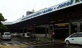 Ilh�us - Entrada do Aeroporto Jorge Amado em Ilh�us-BA-Foto:Caio Graco Machado
